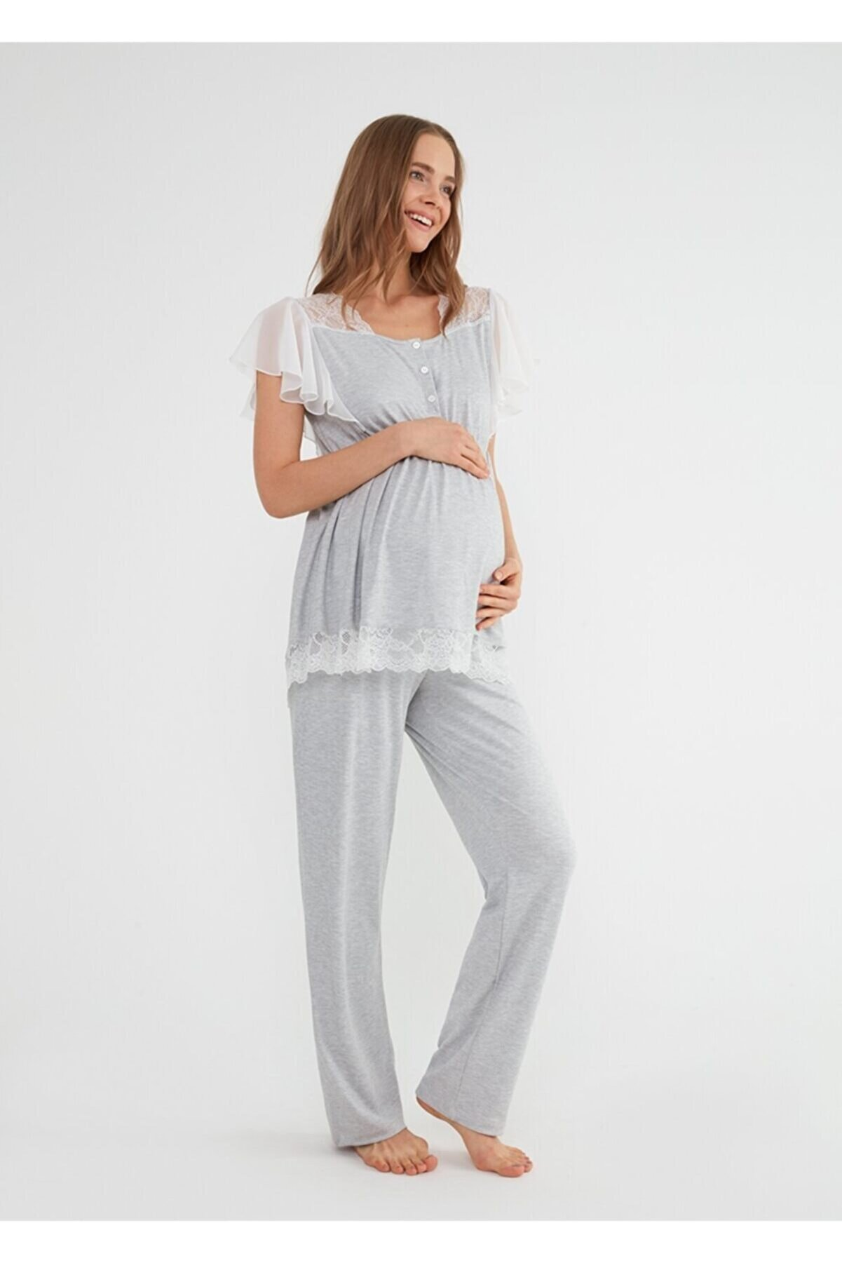 Suwen Mia Hamile Lohusa Pijama Takımı