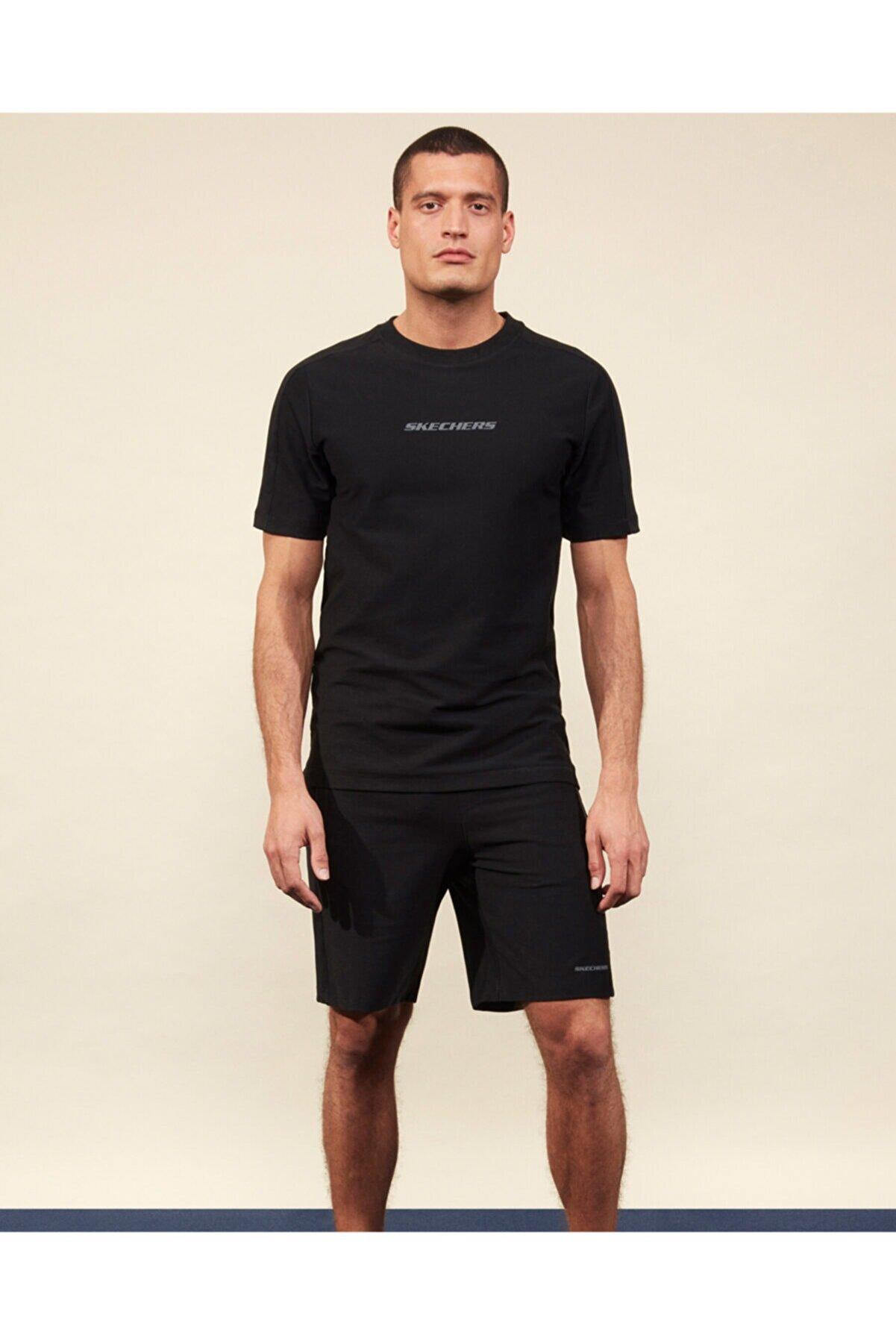 Skechers Erkek Siyah Spor Şort