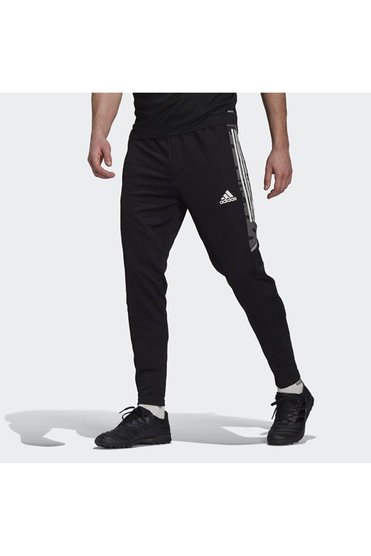 adidas Erkek Siyah Condivo 21 Primeblue Training Eşofman Altı