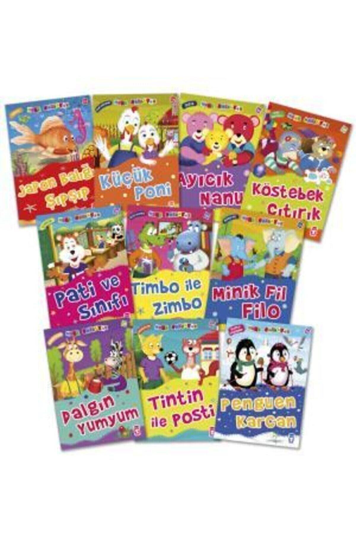 Timaş Çocuk Mini Masallar Set 3 (10 Kitap) - Çocuk