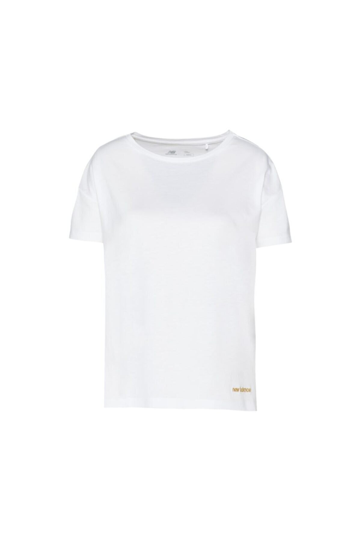 New Balance Kadın Beyaz Tişört Wnt3020-wt