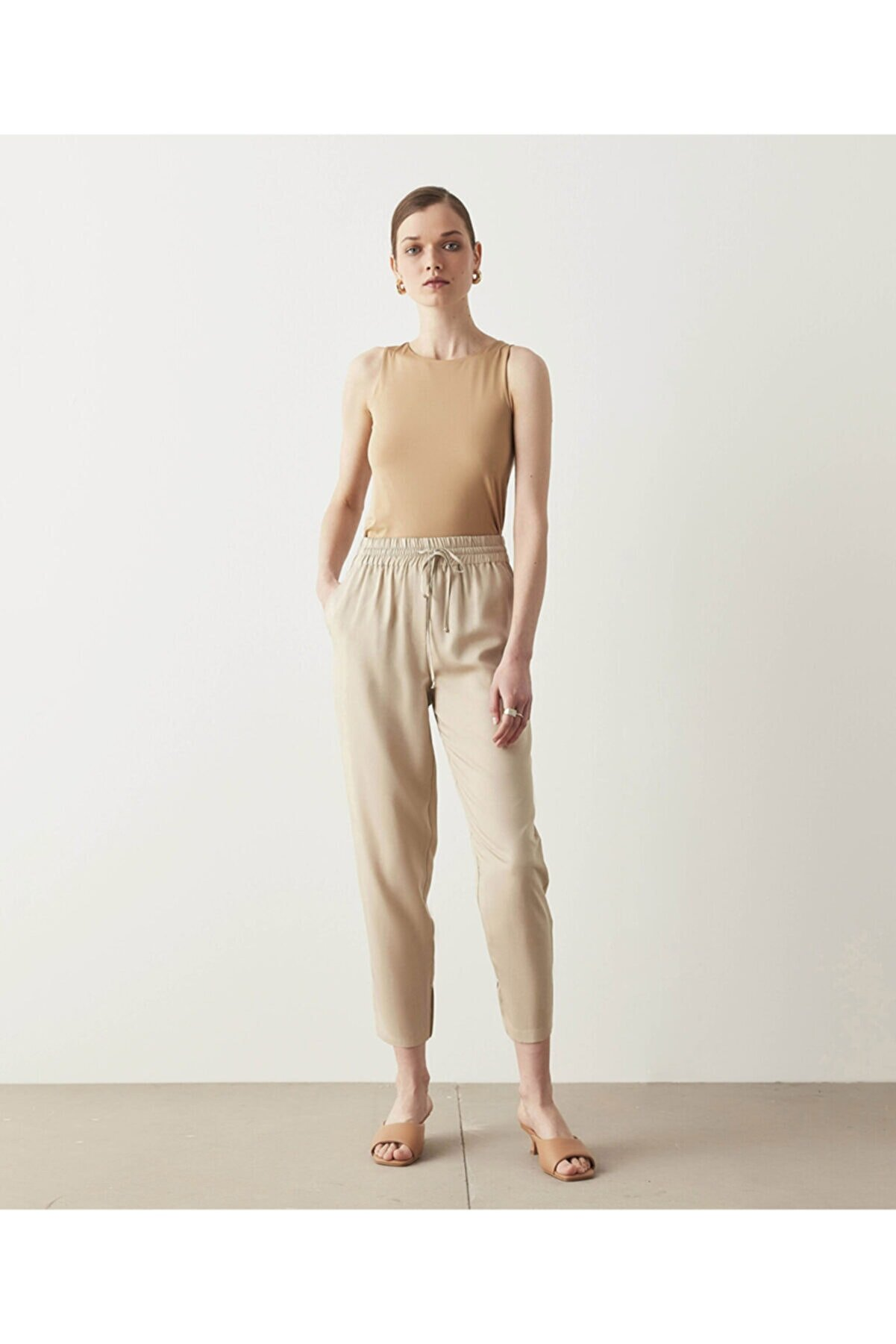 İpekyol Ekose Desen Pantolon