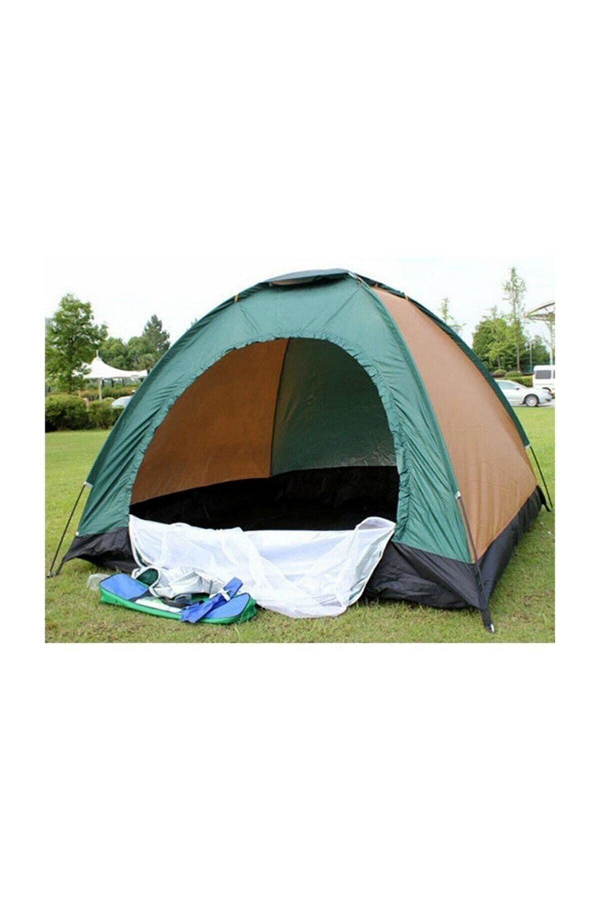 Skygo Düz 6 Kamp Çadırı Kolay Kurulum 2 Kişilik