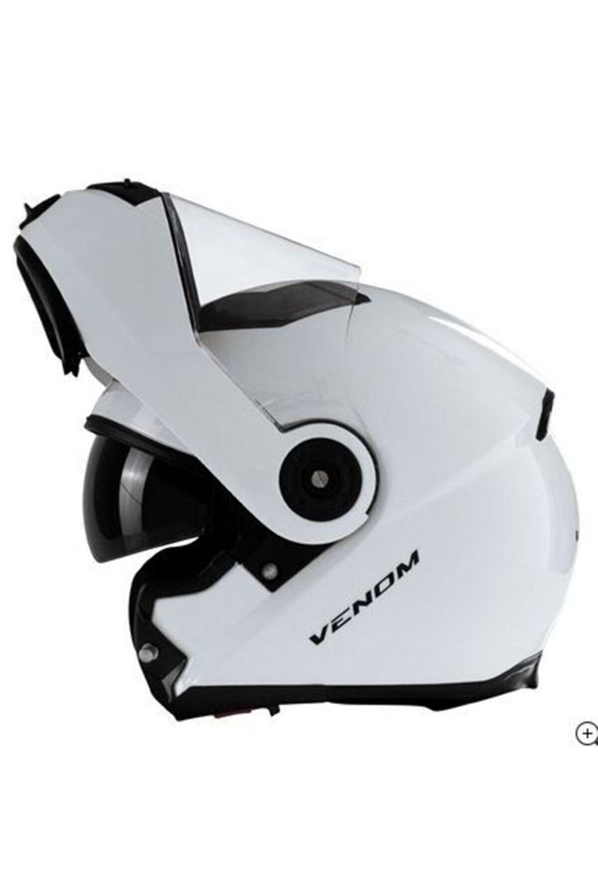 Venom Vf370 Çene Açılır Motosiklet Kaskı