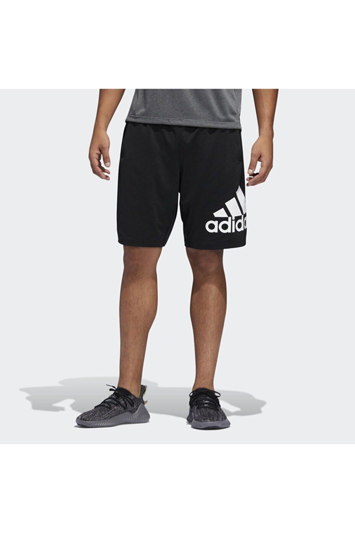 adidas Erkek Siyah Sport Badge Of Sport Şort Du1592 4krft