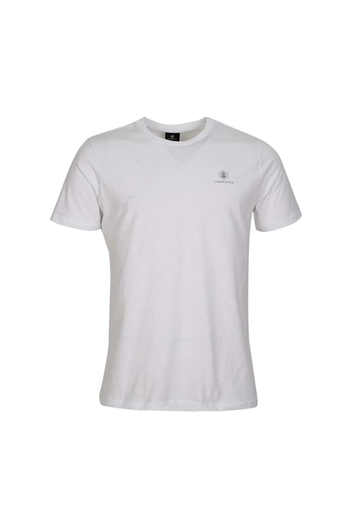 Lumberjack M-1815 RAELYN KK TSHIRT B Beyaz Erkek T-Shirt 100664494