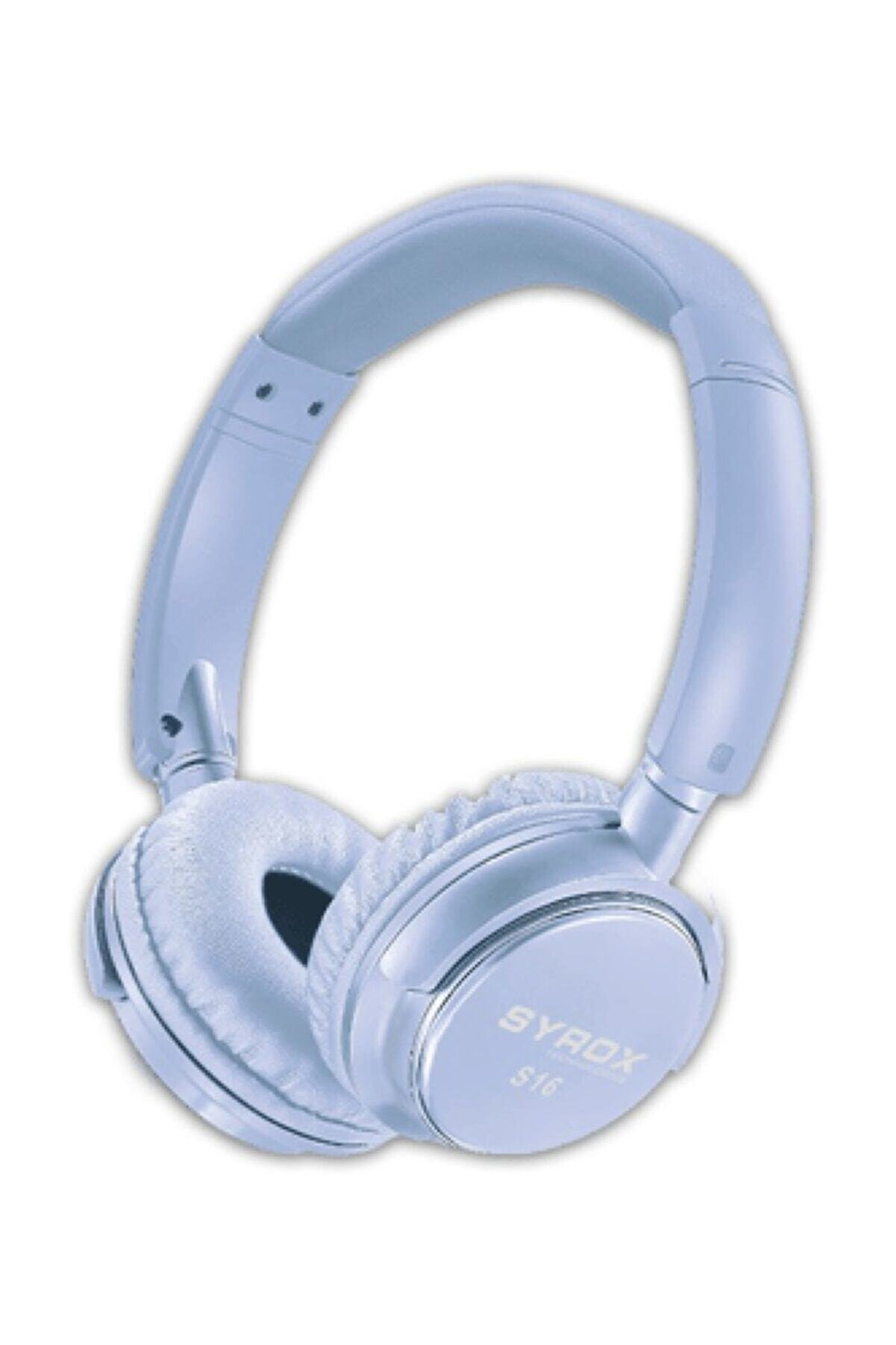 Syrox Kulaküstü Kablosuz Bluetooth Kulaklık Hafıza Kartı Girişli