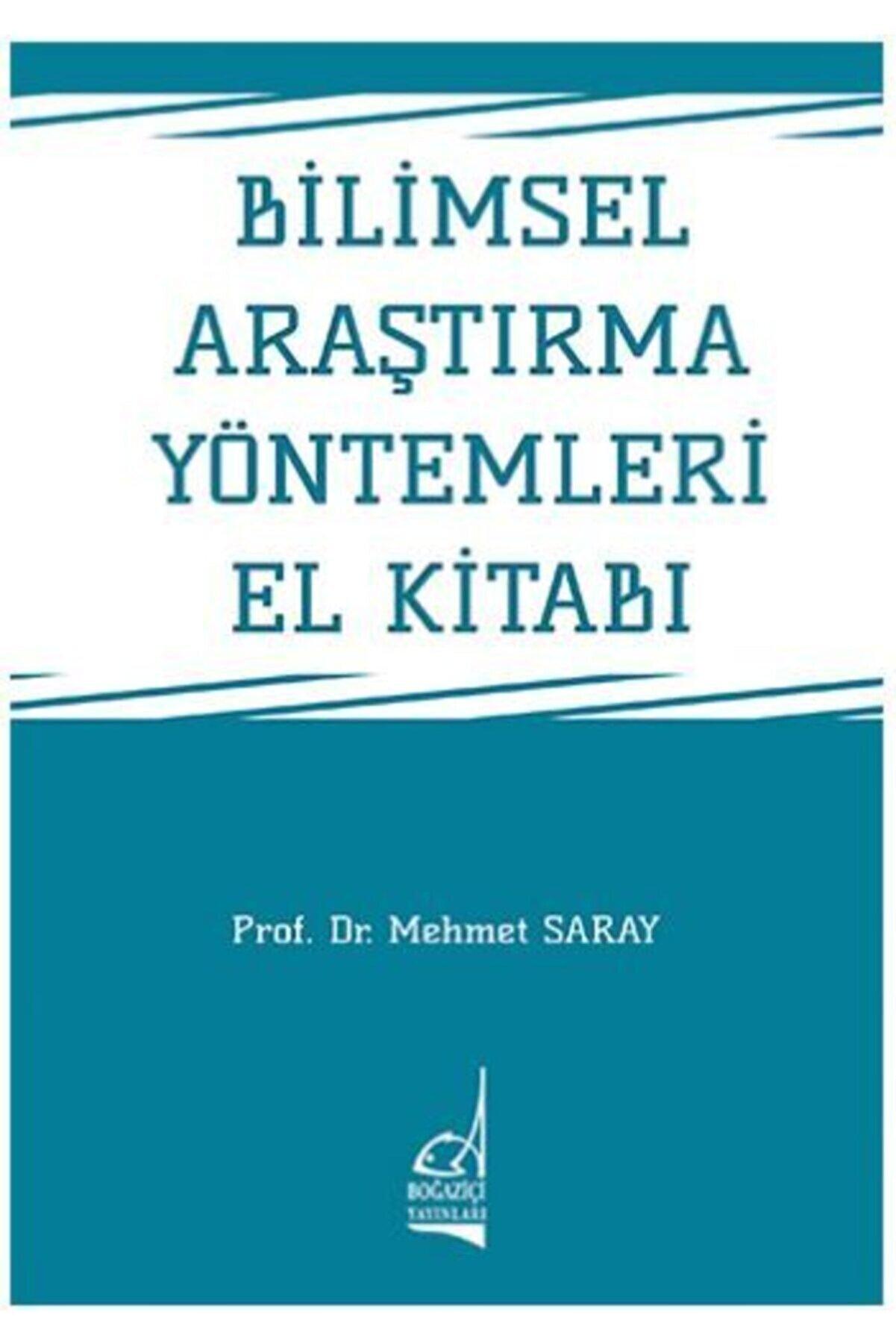 Boğaziçi Yayınları Bilimsel Araştırma Yöntemleri El Kitabı