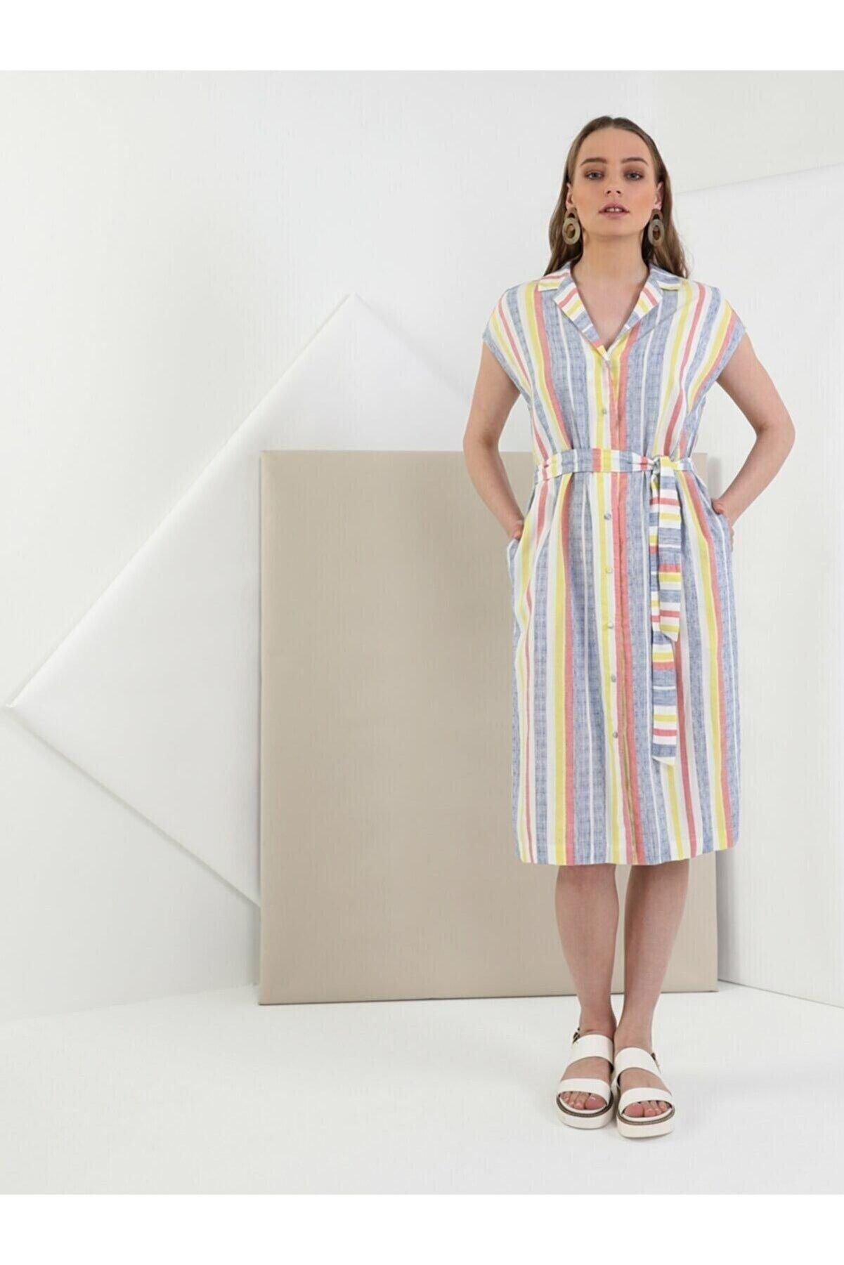 Colin's Regular Fit Kadın Çok Renkli Elbise
