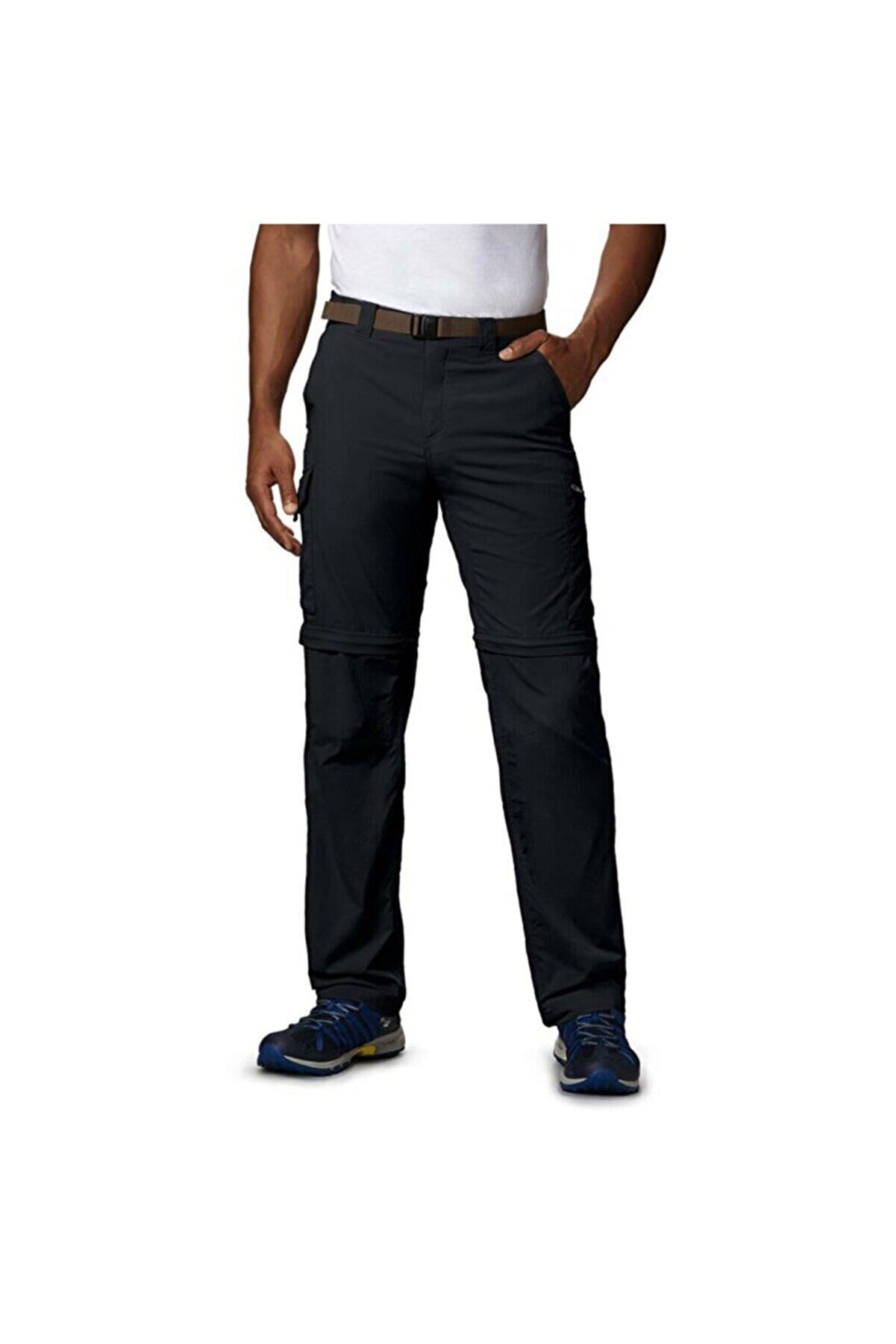 Columbia Silver Ridge Convertible Pant Erkek Siyah Outdoor Pantolon Am8004-010