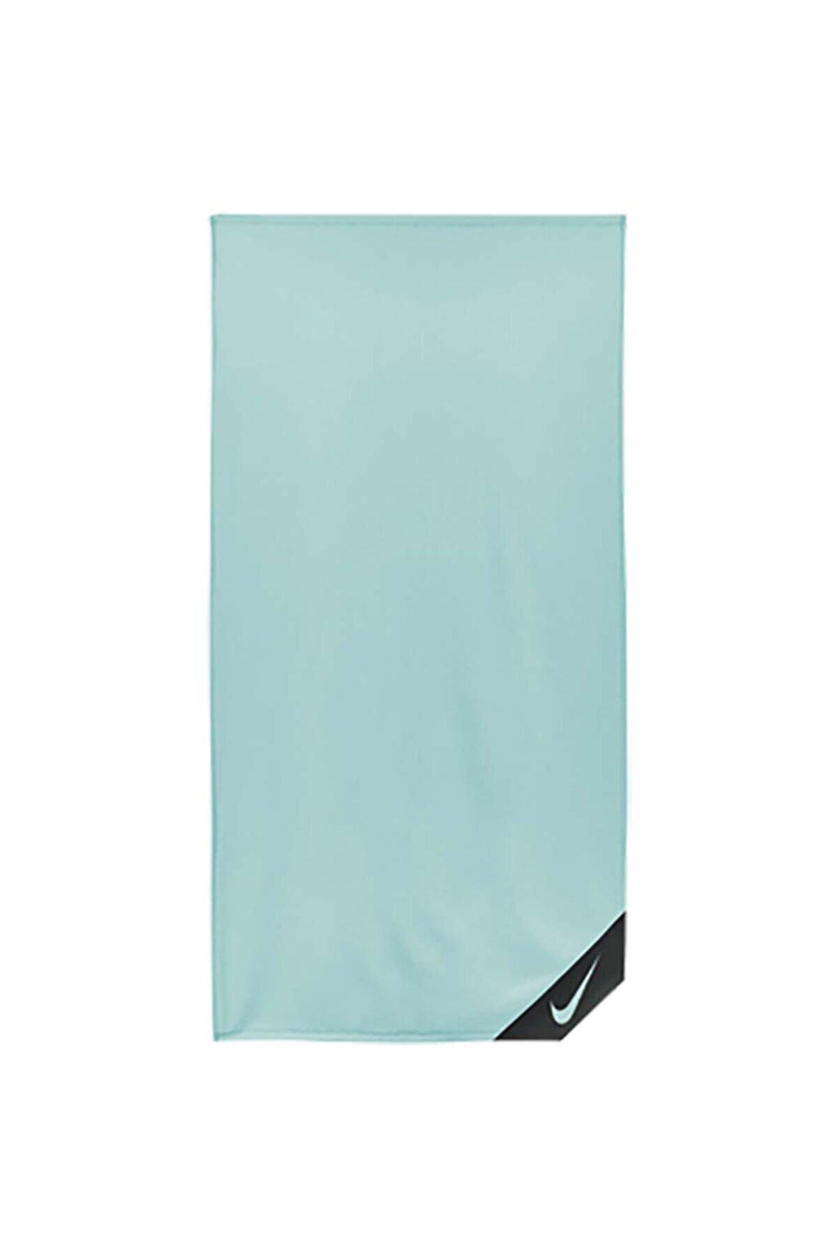 Nike Cooling Towel Small Teal Unisex Mavi Antrenman Havlusu N.000.0005.310.ns
