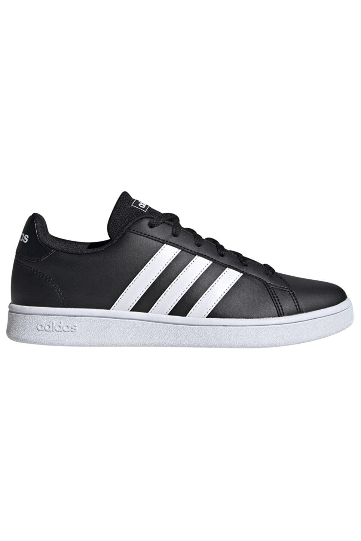adidas Grand Court Base Kadın Spor Ayakkabı Cblack/ftwwht Ee7482