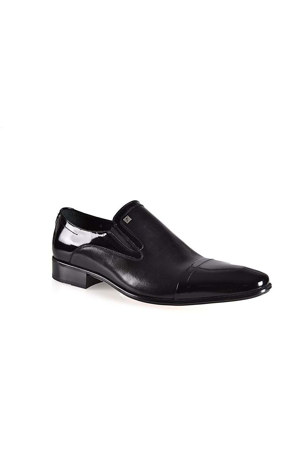 Fosco 3015-3 Erkek Günlük Ayakkabı - - Siyah-rugan - 43