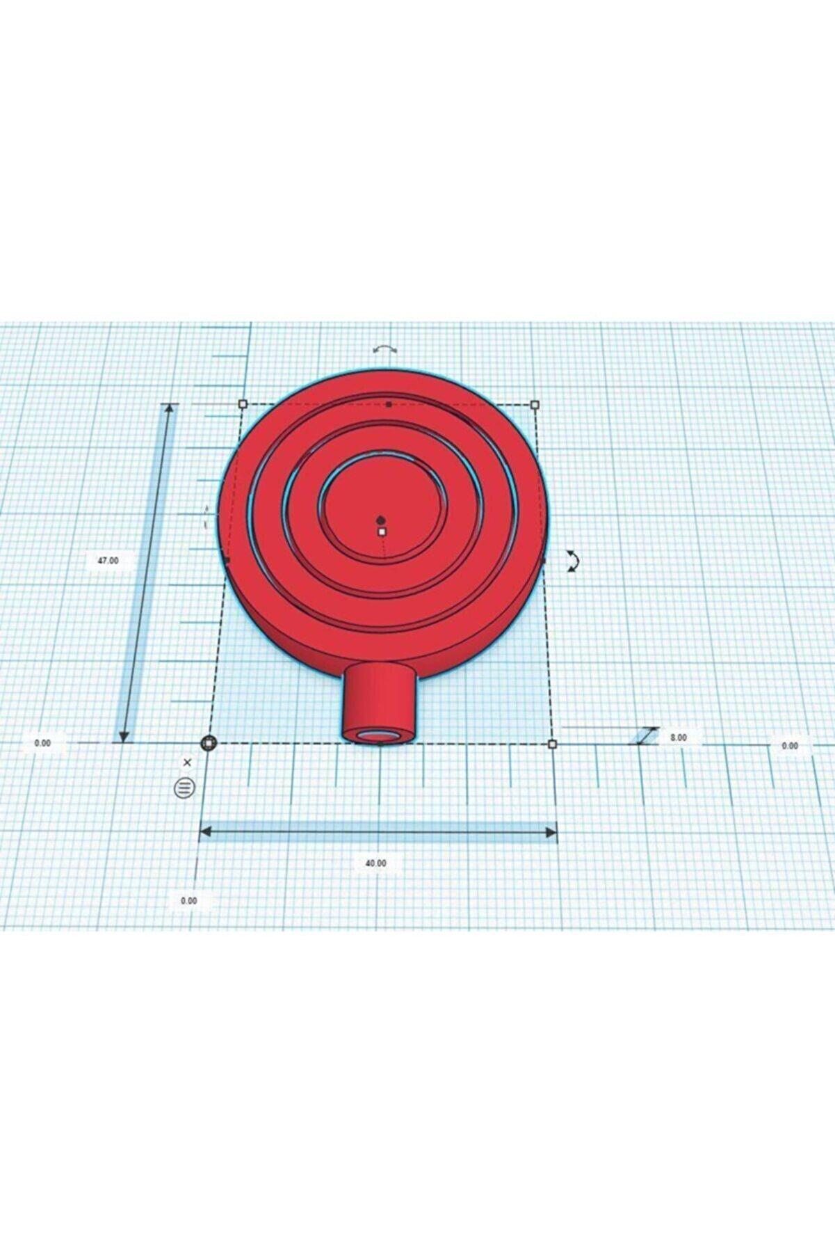 SudoCheap 5mm Mil Için Gyro Spinner Organik Plastikten Organizer