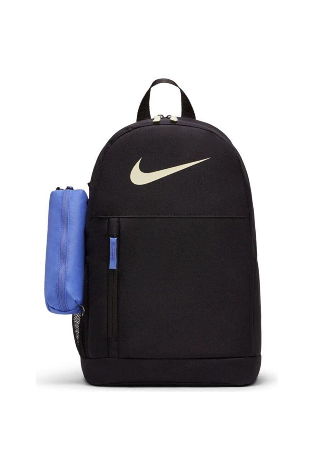 Nike Youth Elemental Backpack Black Black Lime Ice Ba6603-011