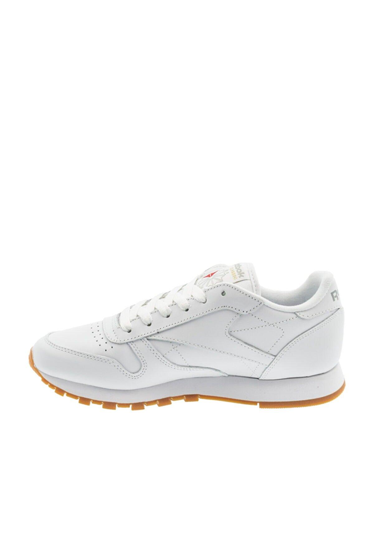 Reebok CL LTHR-1 Beyaz Kadın Sneaker 100257336