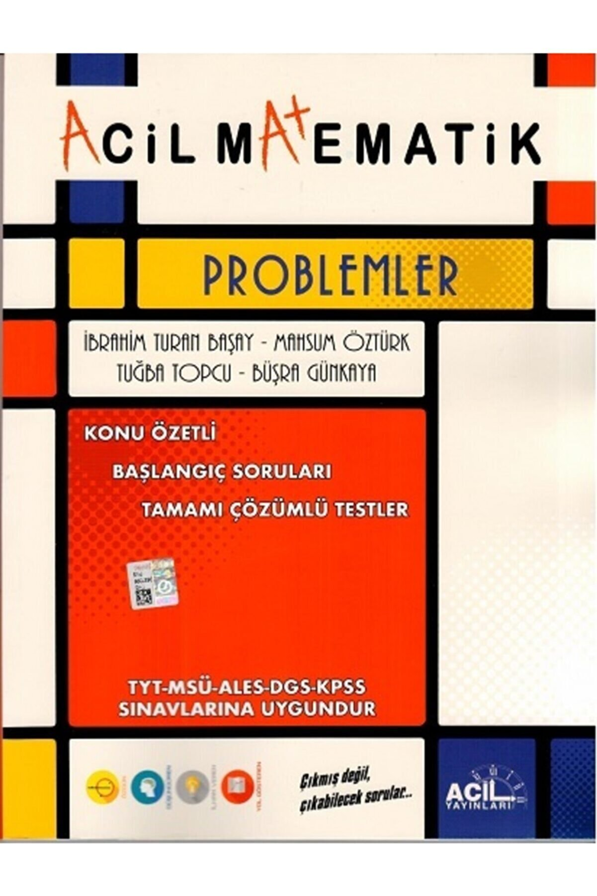 Acil Yayınları Tyt Matematik Problemler 2020
