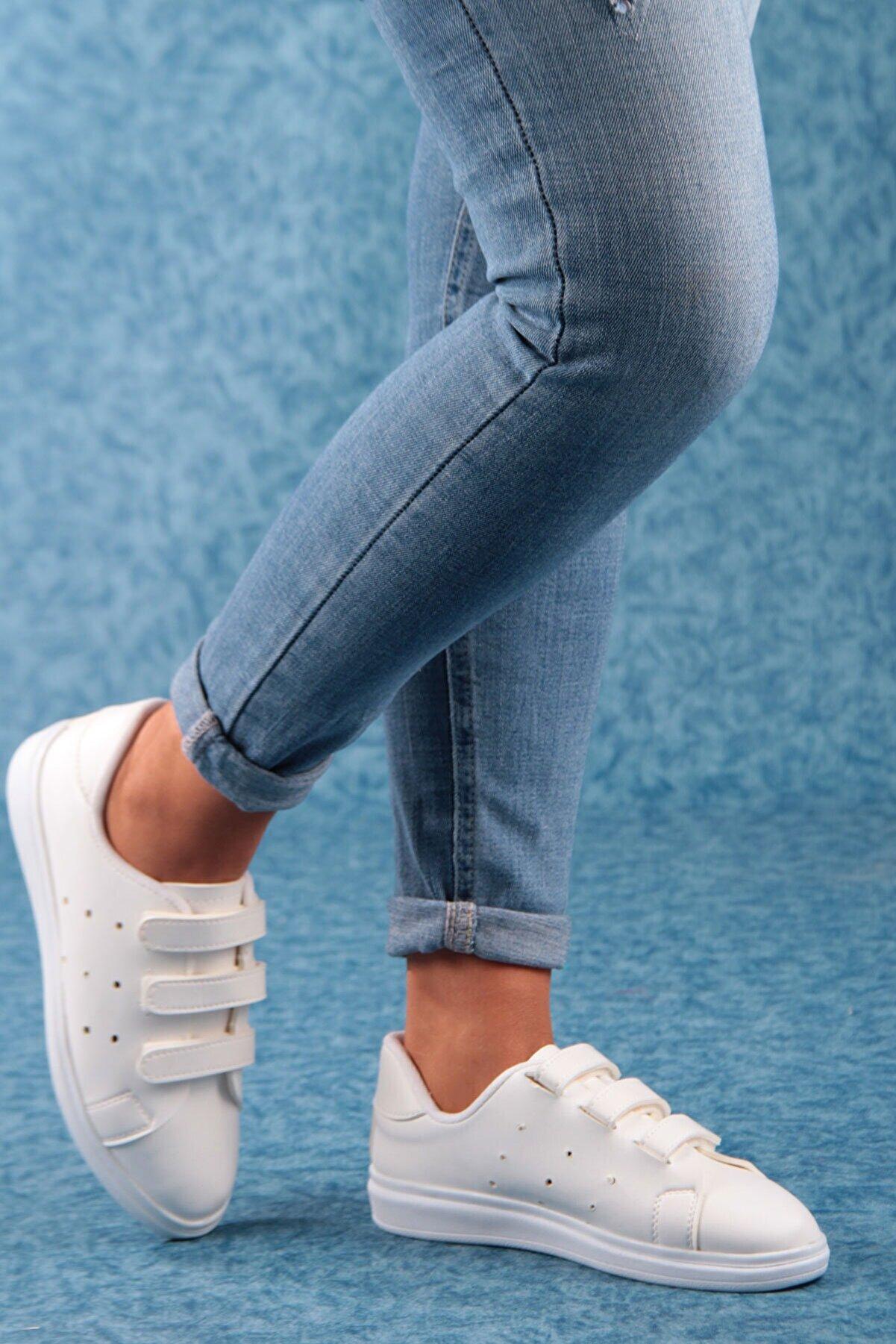 Gob London Kadın Beyaz Spor Ayakkabı 1029-101-0004