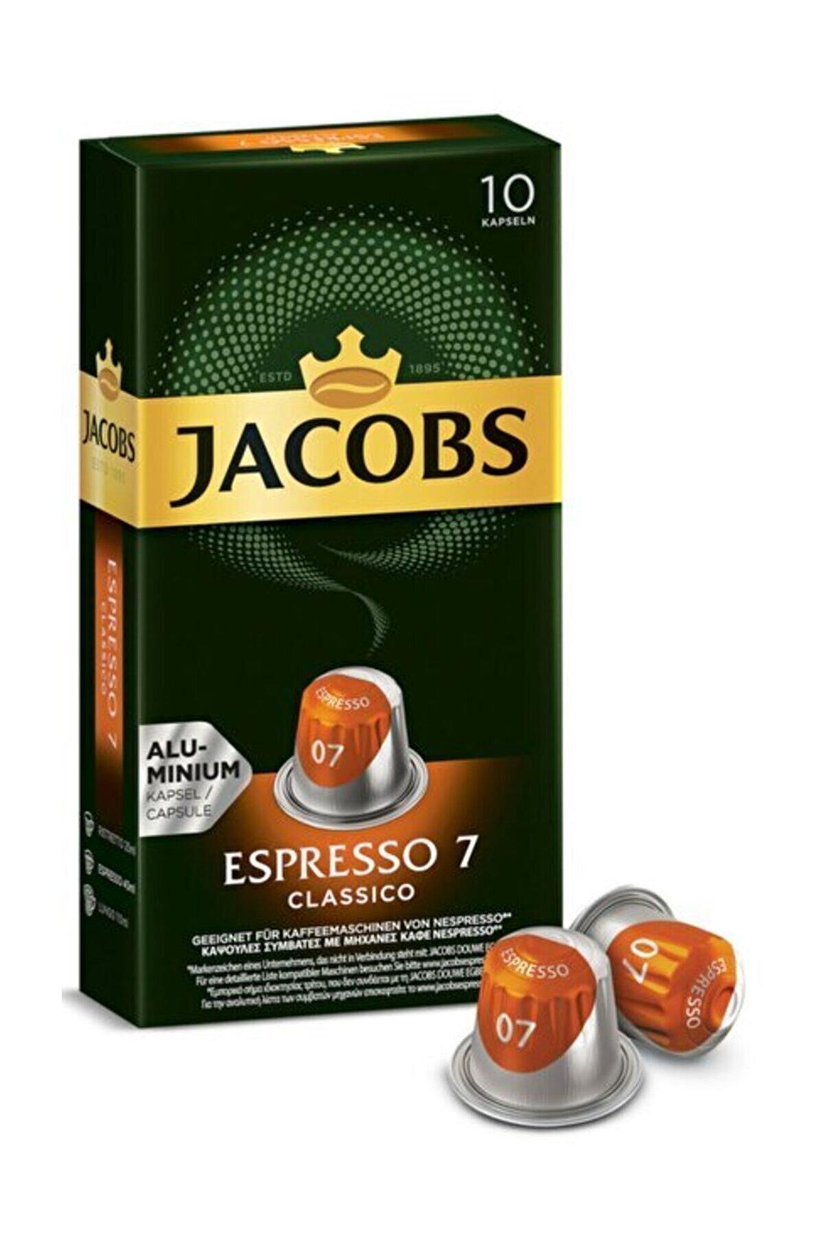 Jacobs Espresso 7 Classico 10 Kapsül