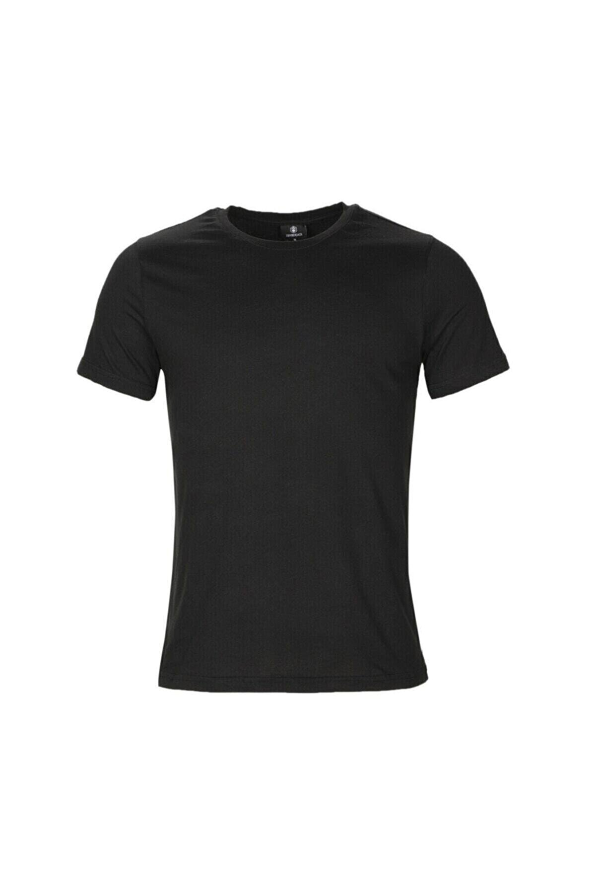 Lumberjack CT102 BASIC C NECK T-SHIR Siyah Erkek T-Shirt 100581714