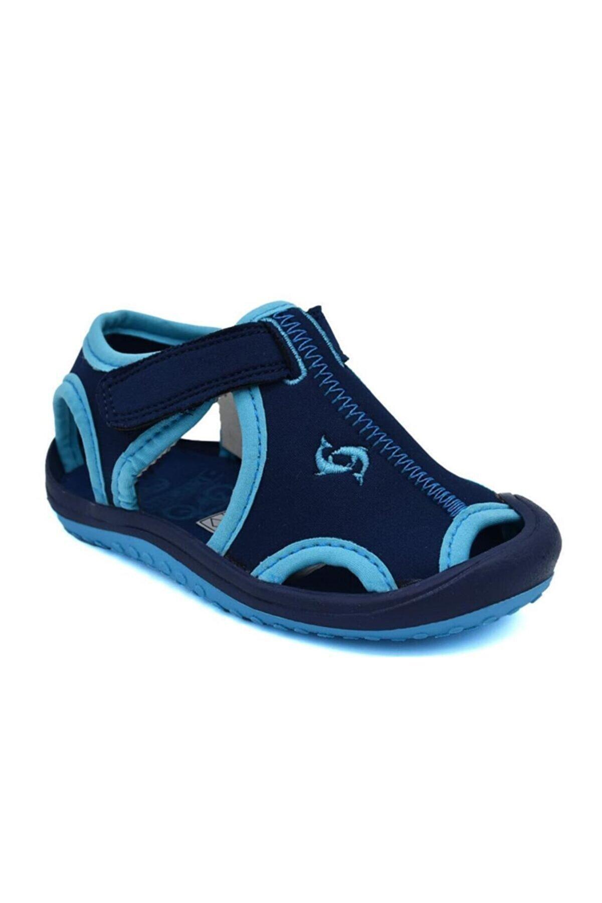 Lisanslı Markalar Erkek Çocuk Lacivert Günlük Sandalet