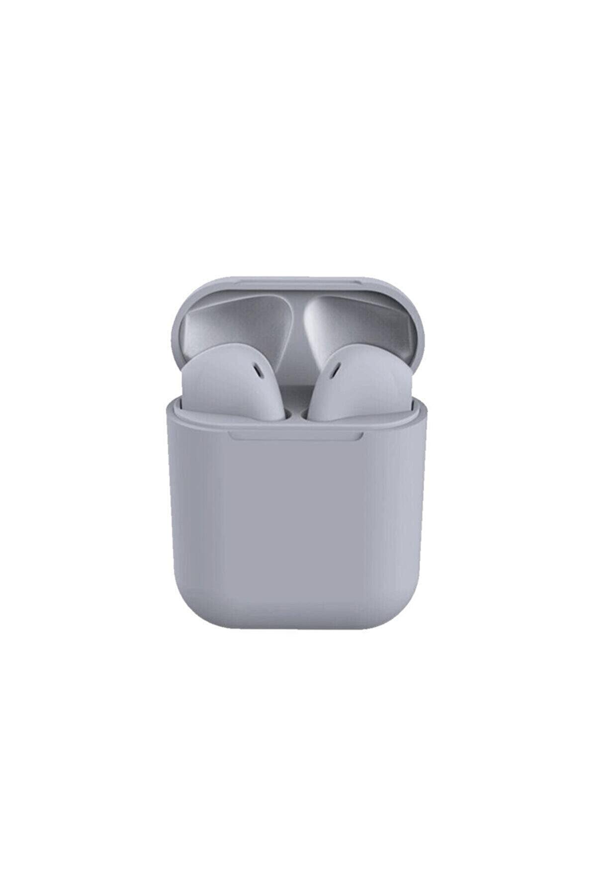 Tws I12 Gri Iphone Android Universal Bluetooth Kulaklık Hd Ses Kalitesi