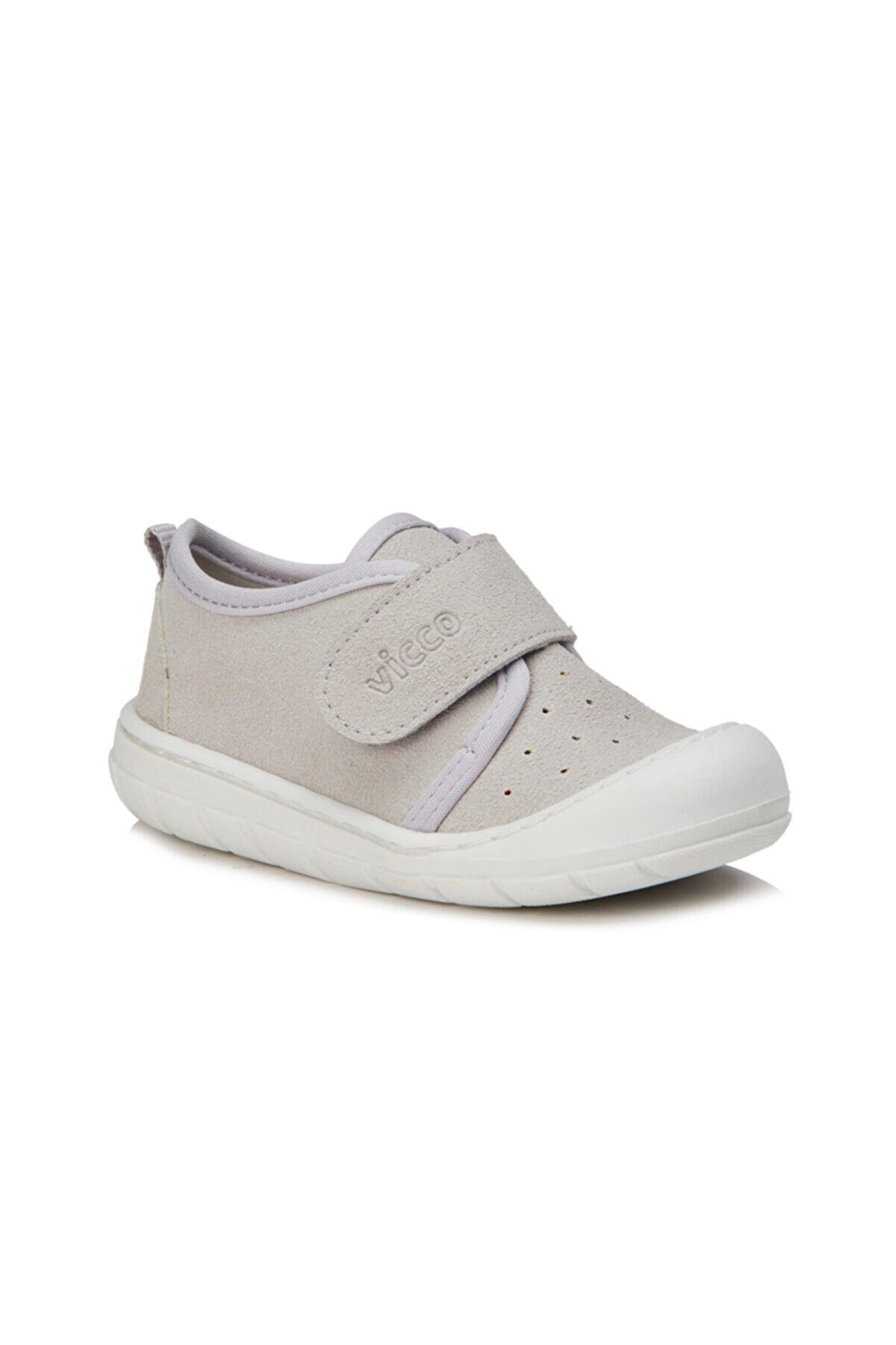 Vicco Anka Unisex Bebe Gri Günlük Ayakkabı