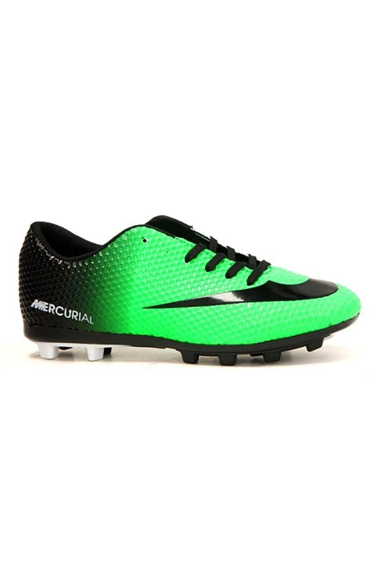 Walked Yeşil Krampon Futbol Ayakkabı
