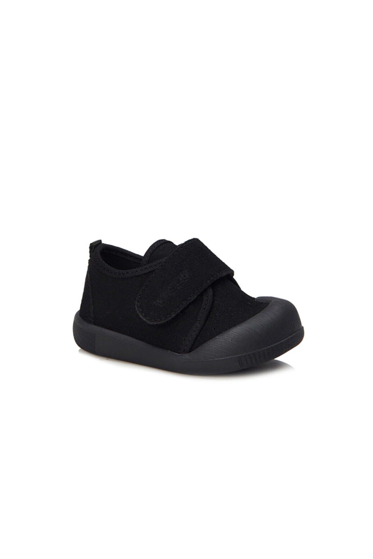 Vicco Anka Basic Unisex Ilk Adım Siyah Günlük Ayakkabı