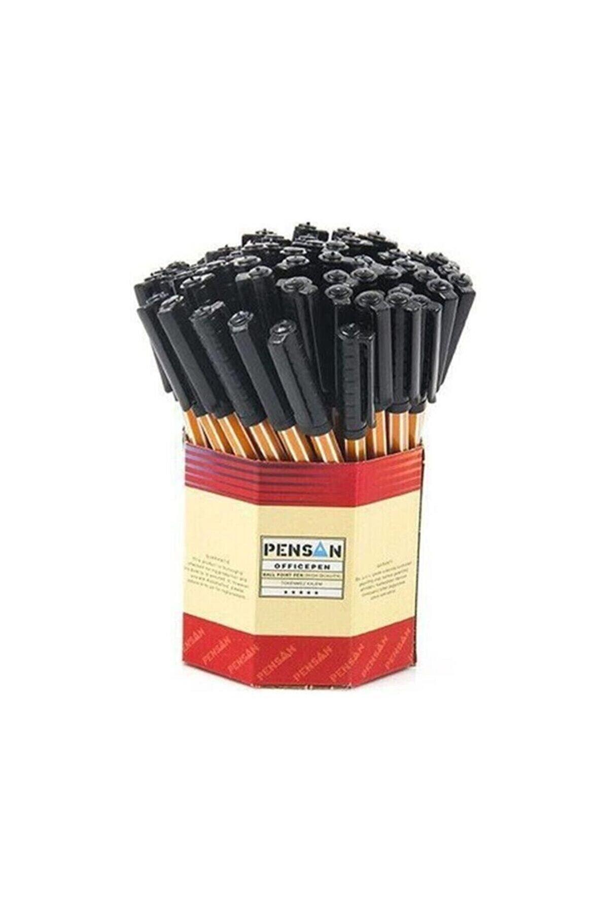 Pensan Tükenmez Kalem Siyah Kalem Offıcepen 1.0 mm 60 Adet lik Kutu