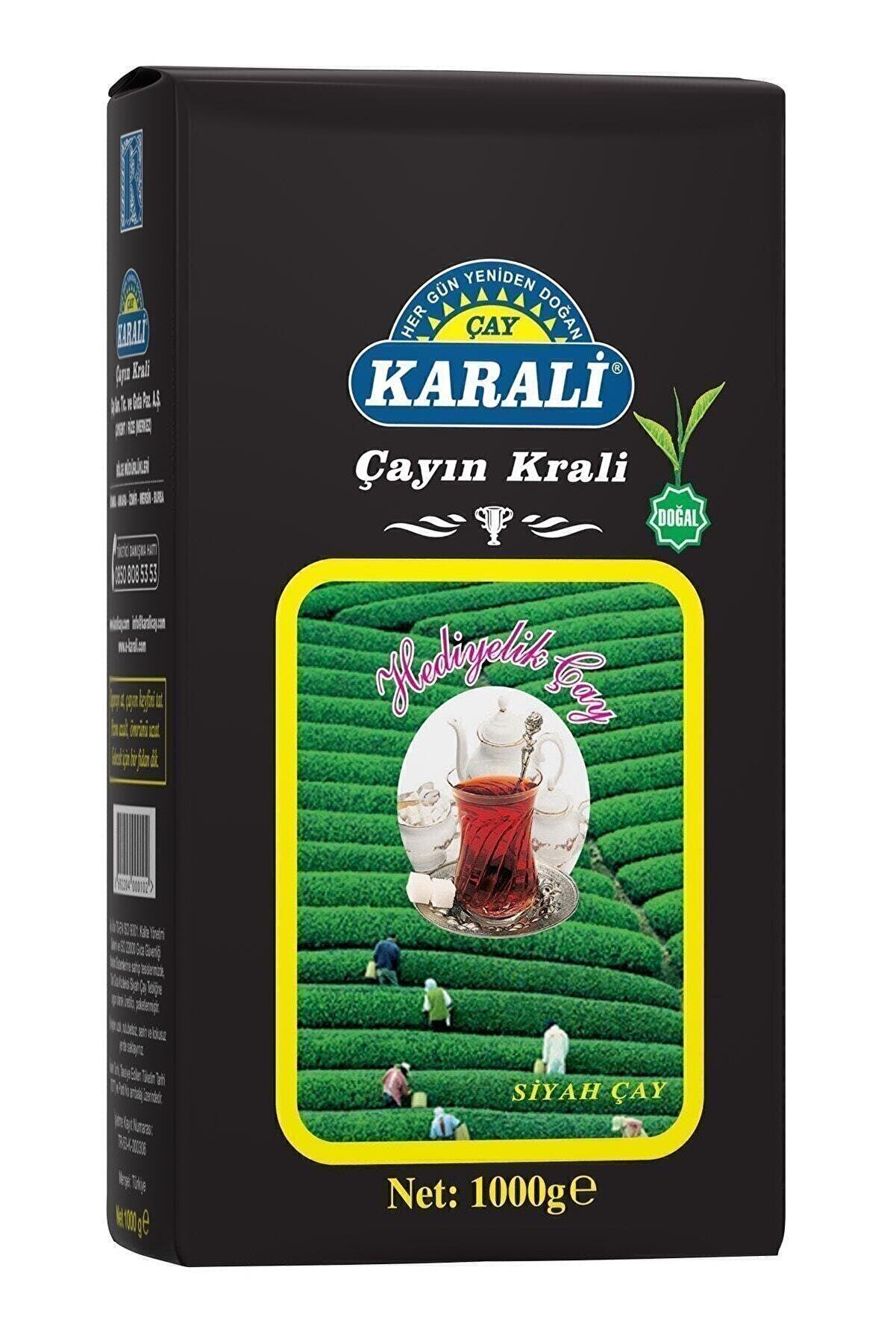 Karali Çay Karali Hediyelik Dökme Çay 1 Kg Adet Kampanyalı