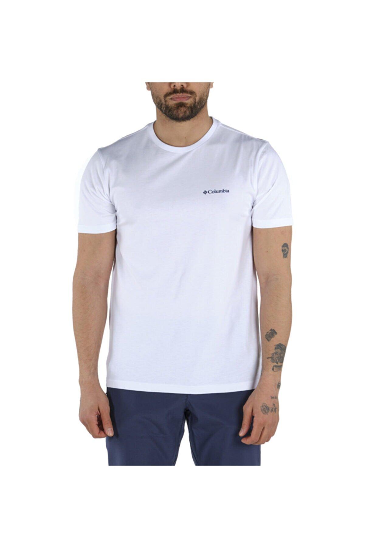 Columbia Erkek Beyaz Csc Basic Tişört 9110010100 Cs0002