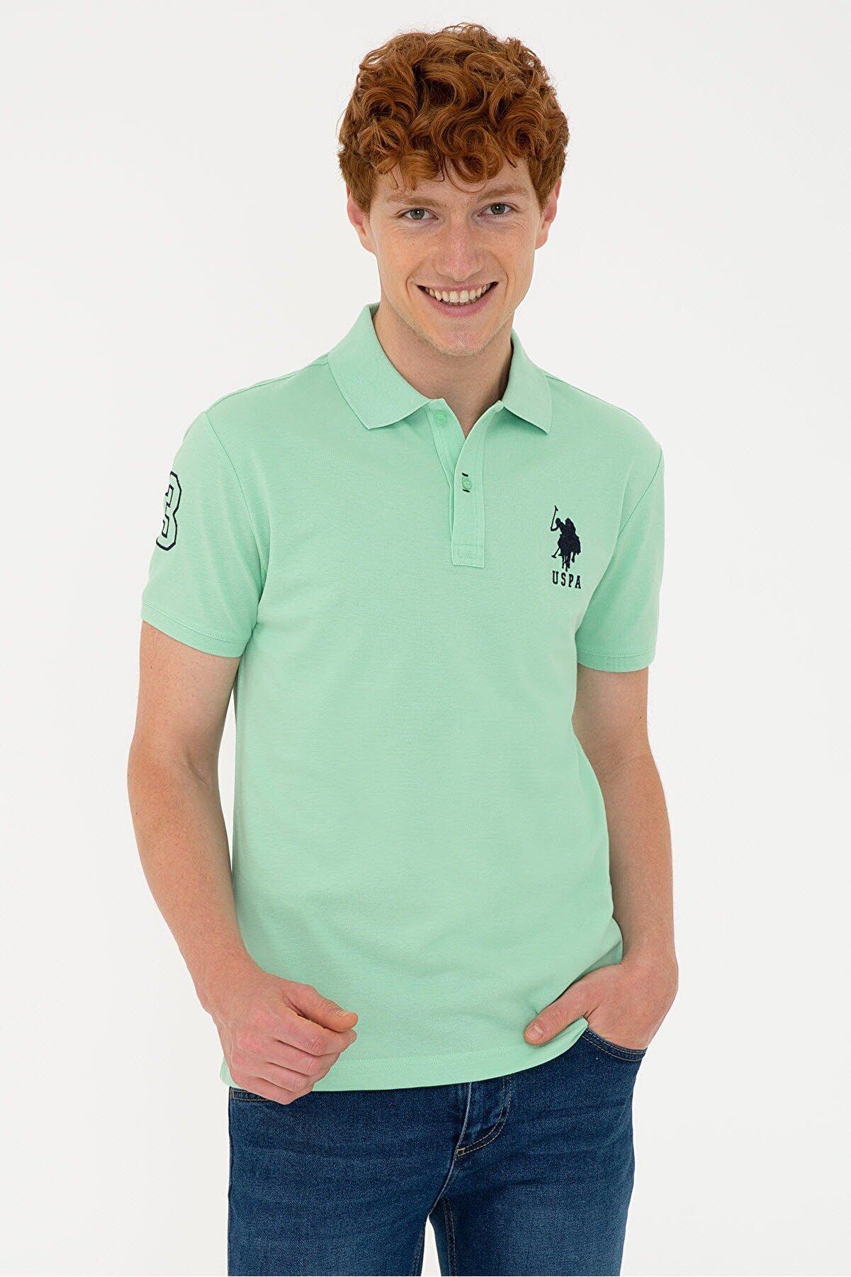 US Polo Assn Yeşil Erkek T-shirt