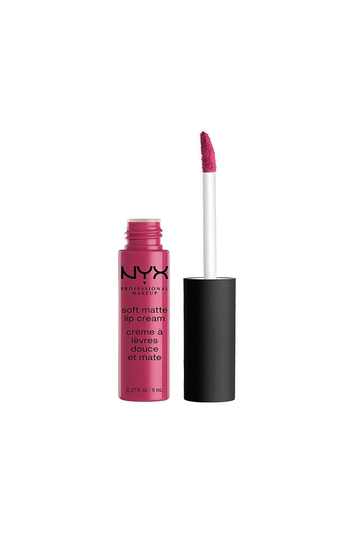 NYX Professional Makeup Mat Ruj - Soft Matte Lip Cream Prague 14 G 800897829964