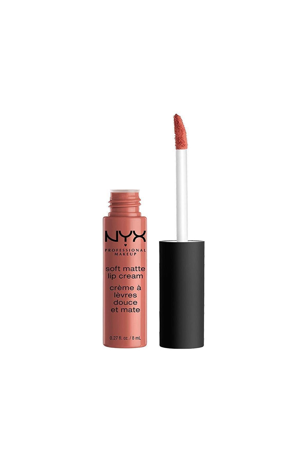 NYX Professional Makeup Mat Ruj - Soft Matte Lip Cream Cannes 14 g 800897829971