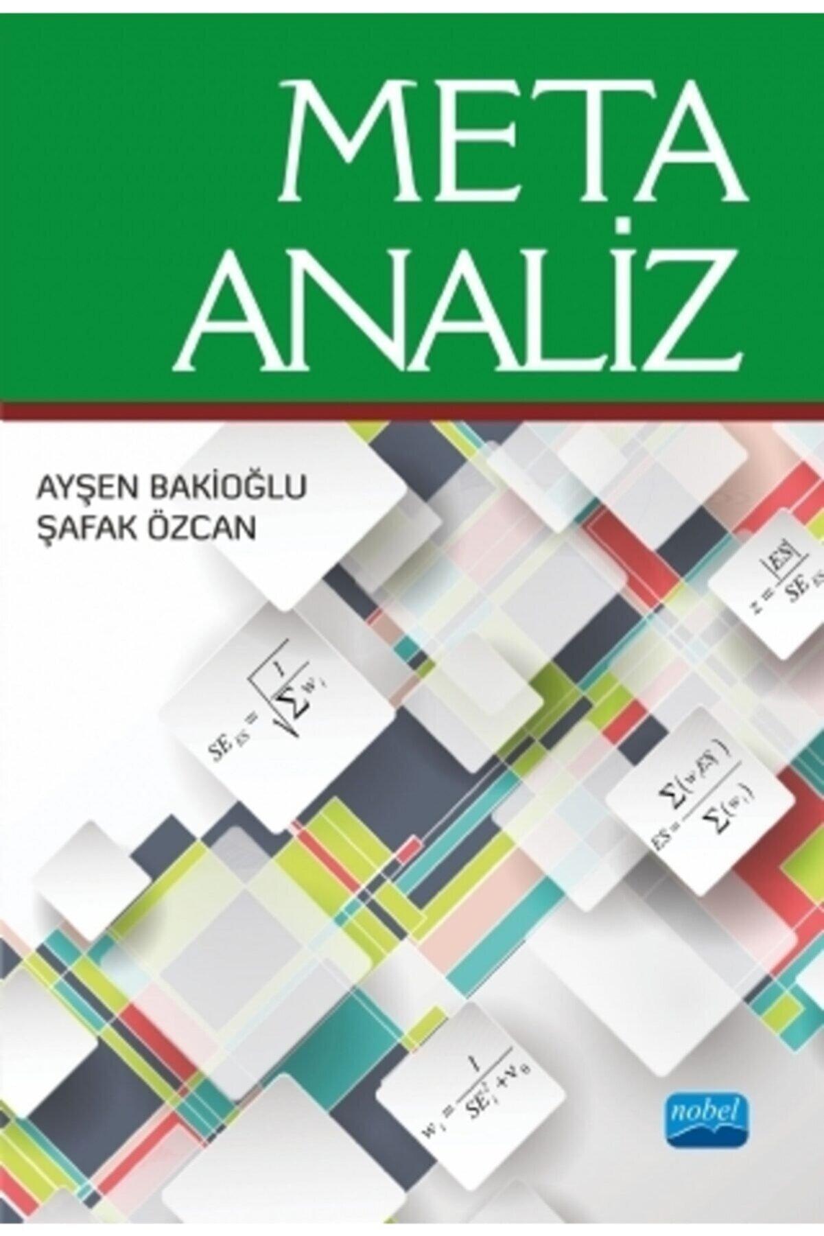 Nobel Akademik Yayıncılık Meta-analiz