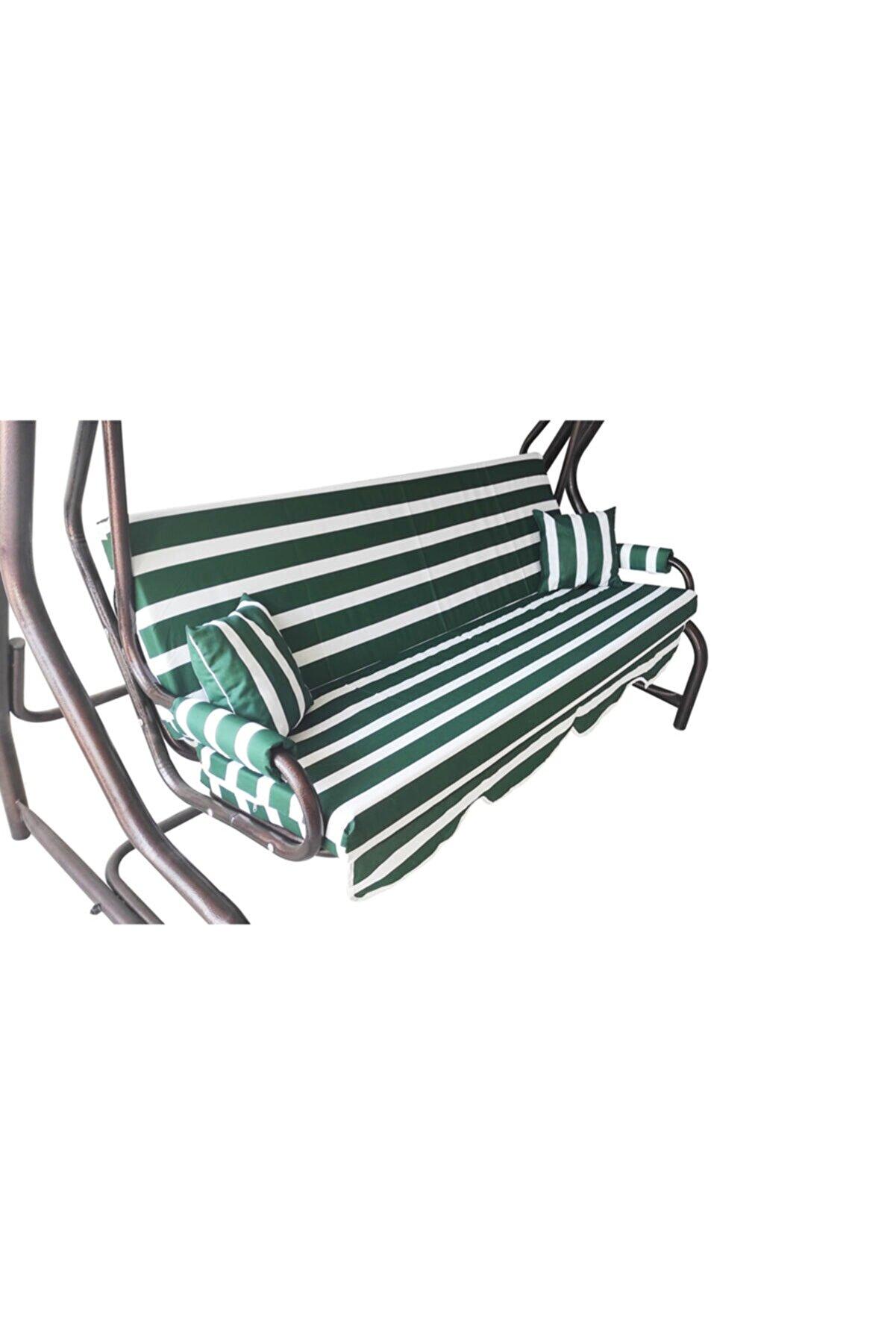 Vip Home Concept Market Ürünleri 3 Kişilik Süngersiz Bahçe Salıncak Minderi Kılıfı