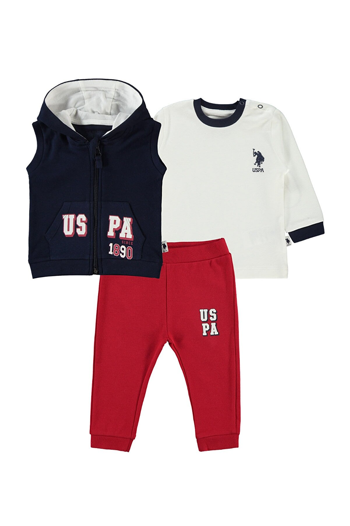 US Polo Assn Erkek 3'lü Takım