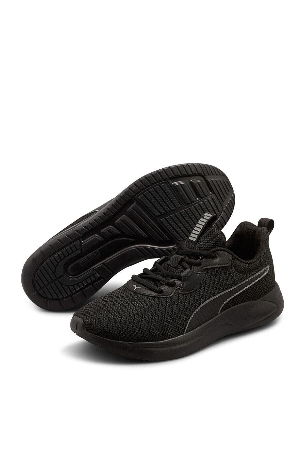 Puma Resolve Erkek Siyah Spor Ayakkabısı -