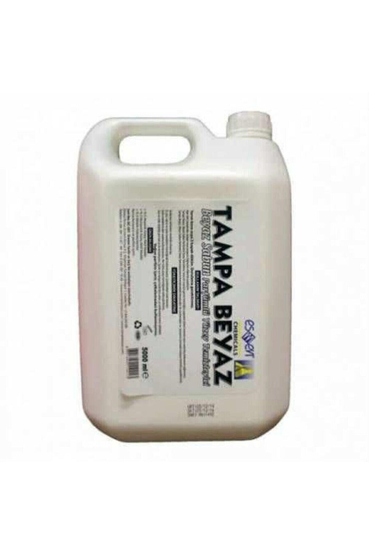 TAMPA Beyaz Beyaz Parfümlü Sıvı Yüzey Temizleyici 5000 Ml