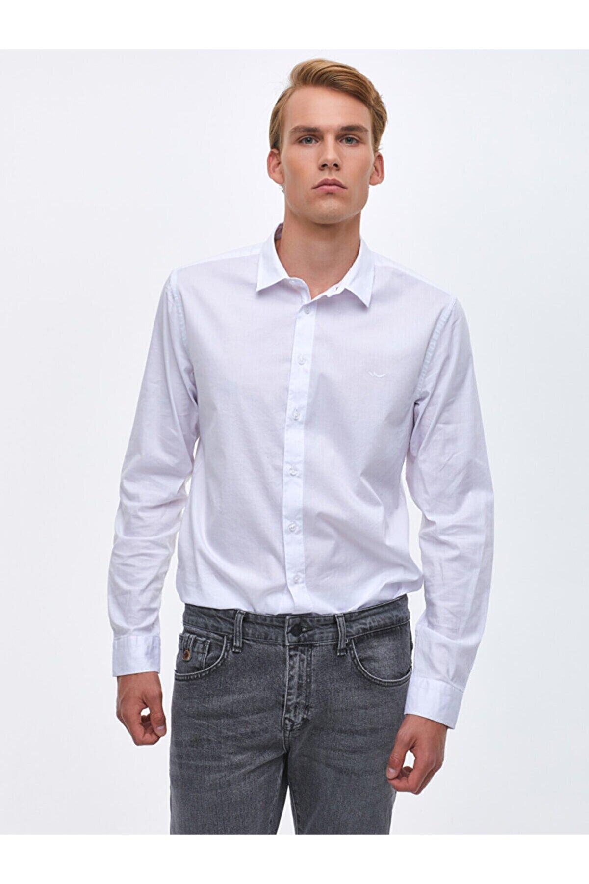 Ltb Beyaz Gömlek