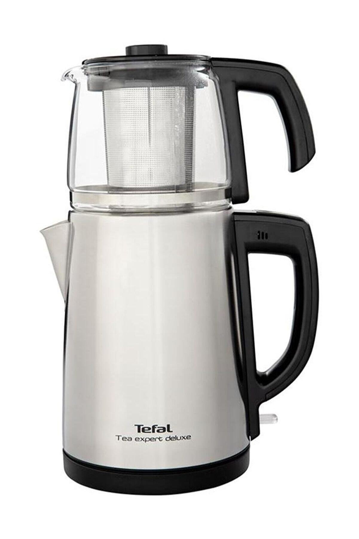 TEFAL Tea Expert Deluxe Cam Demlikli Çay Makinesi