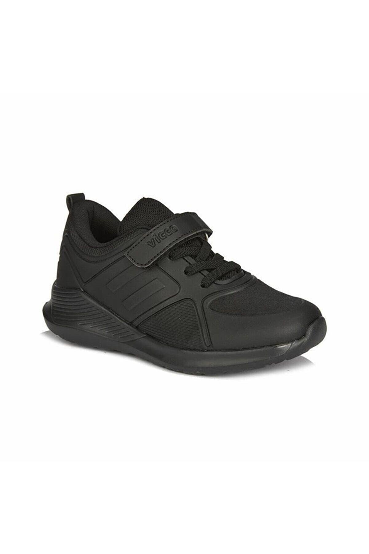 Vicco Erkek Çocuk Siyah Okul Ayakkabısı 346 20k 164