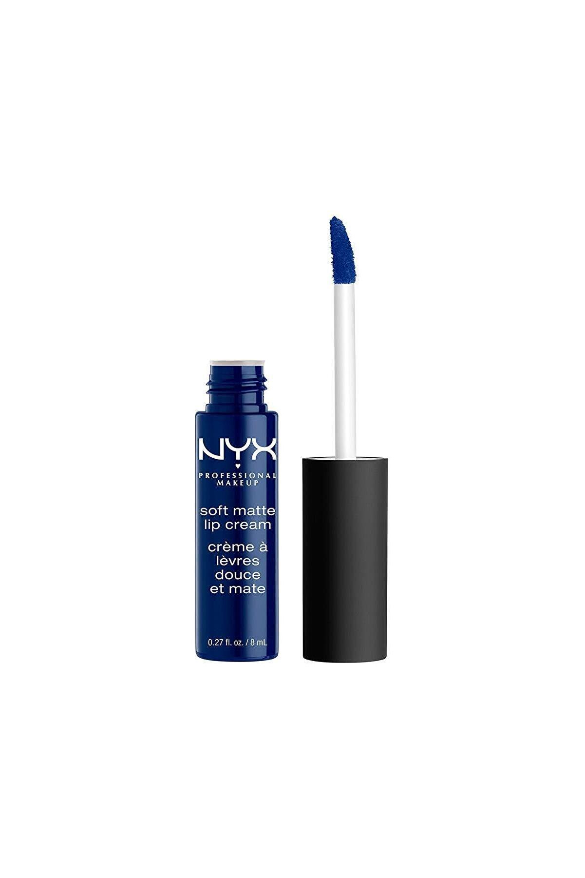 NYX Professional Makeup Mat Ruj - Soft Matte Lip Cream Moscow 14 g 800897849016