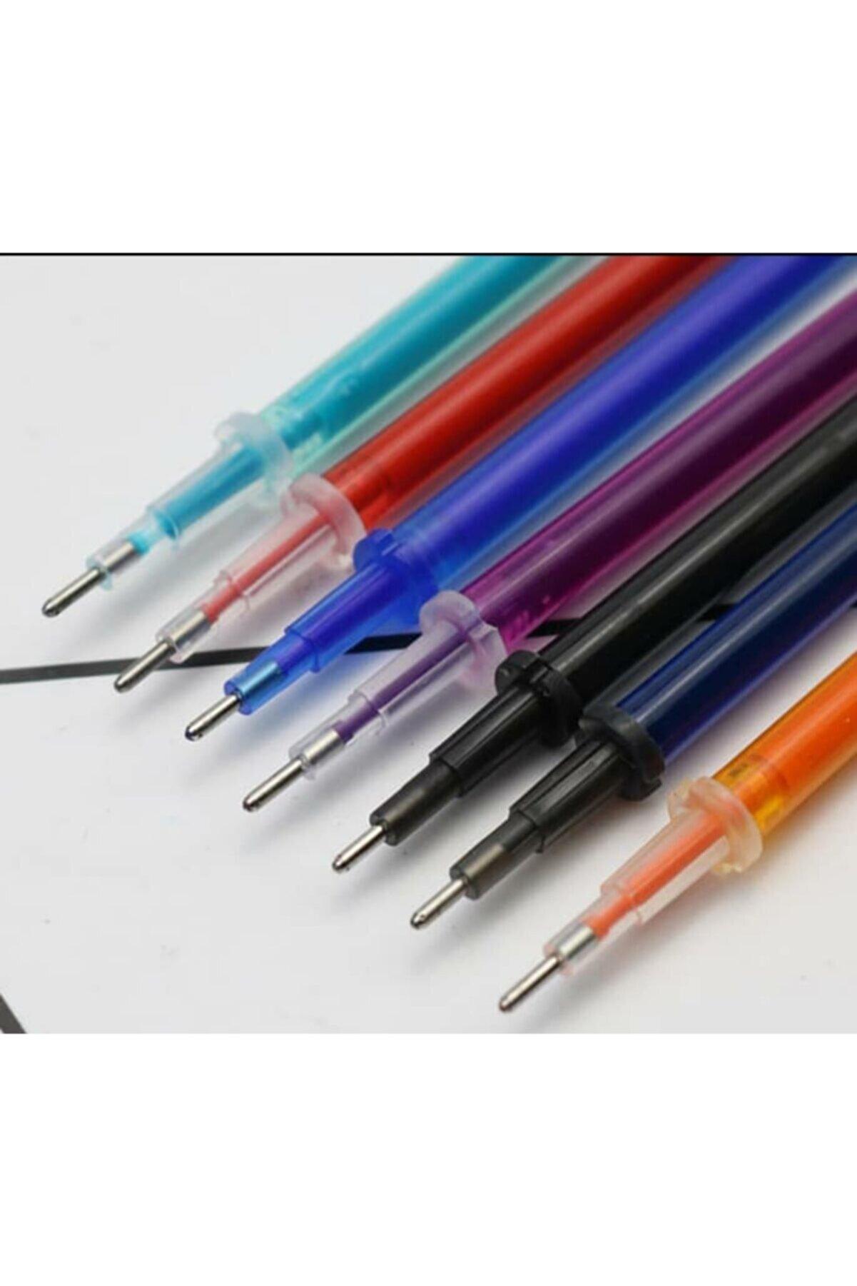 armex Isı Ütü Ile Uçan Kalem Ve 6 Renk Karışık 15 Adet Kalem Ucu 0.5 Mm Iğne Uçlu