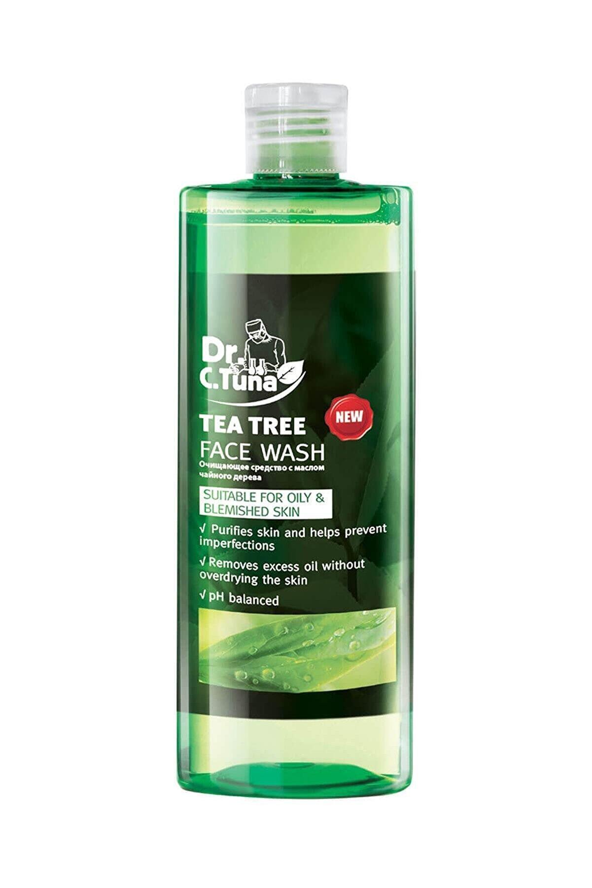 Farmasi Dr. C. Tuna Çay Ağacı Yağı Yüz Yıkama Jeli 225 Ml 8690131102739