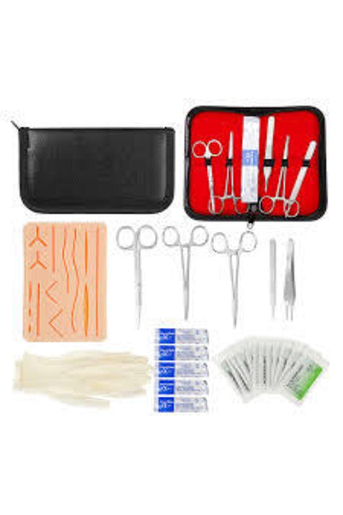 Easy Diş Ve Veteriner Hekimliği, Sütür Eğitim Kiti, Genel Cerrahi Sütür Pratik Kiti , Dikiş Atma Seti