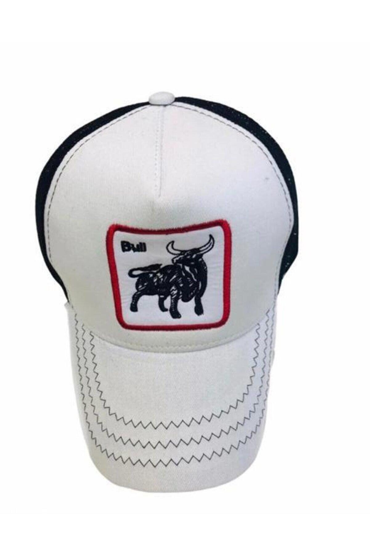 Suyutti Unisex Beyaz Şapka