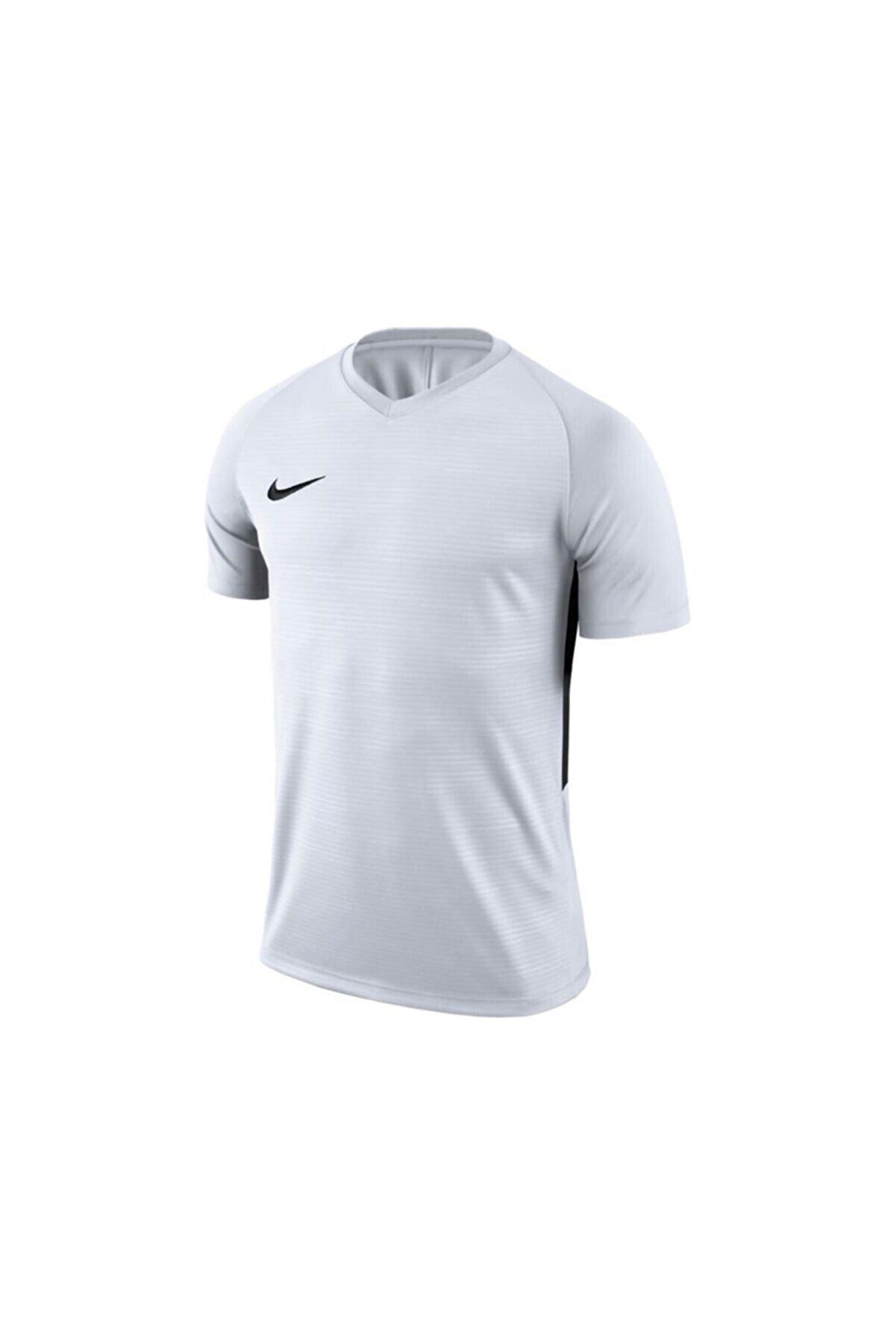 Nike Erkek Beyaz M Nk Dry Tiempo Prem Jsy Ss T-shirt