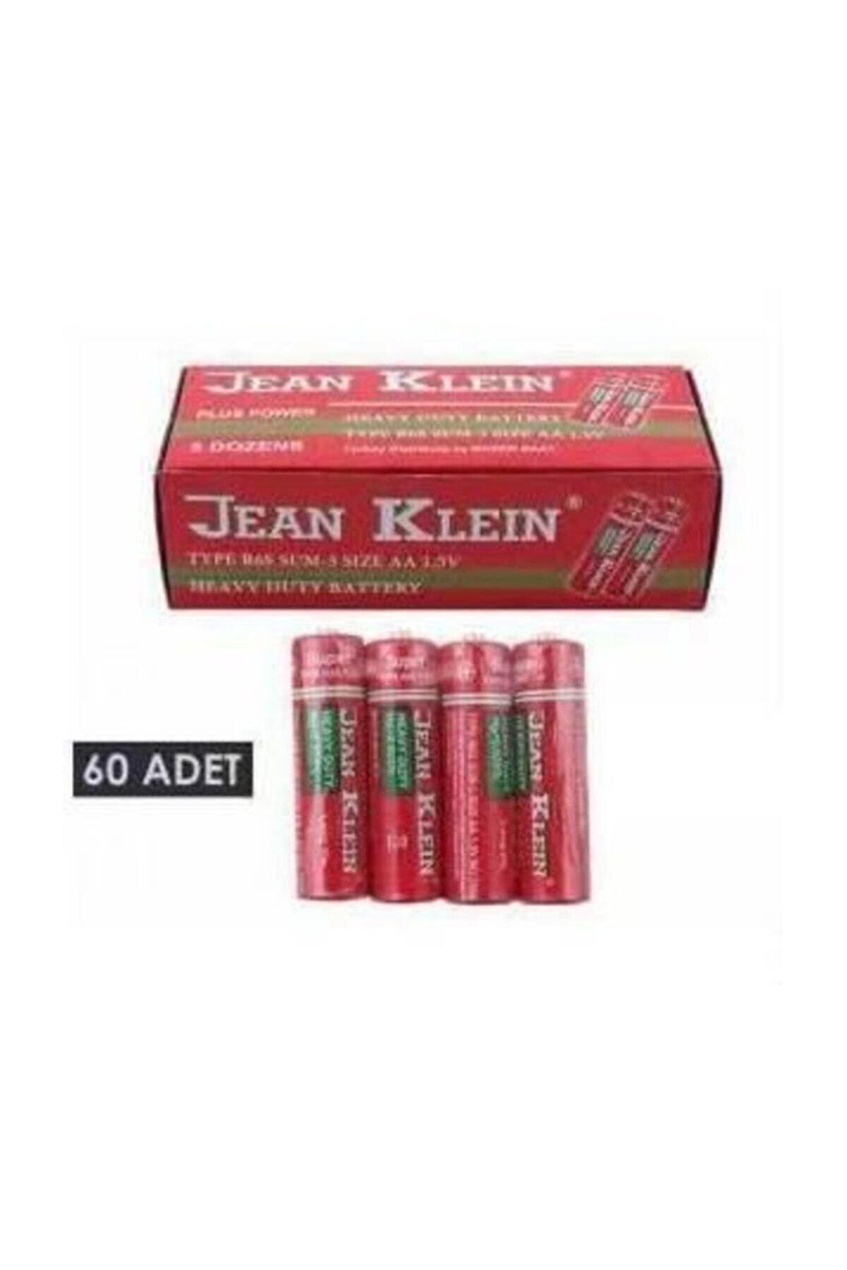 Jean Klein Karbon 1,5v Ince Kalem Pil 60 Adet Karbon 1,5v Kalın Kalem Pil 60 Adet